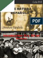 Literatura española s.XX