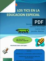 Los Tics en La Educacion Especial - Copia