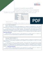Definiciones de los logros obteni dos en la evaluación TIC 2013