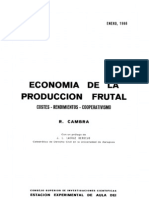Economia de La Produccion Frutal