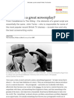 What Makes a Great Screenplay_ _ Books _ the Guardian