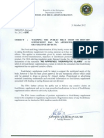 DOH-FDA2012-008