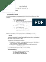 Programación III-Teoria IParcial