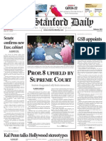 05/27/09 - The Stanford Daily [PDF]