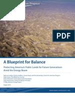 A Blueprint for Balance