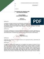 Ley Municipio Libre Durango