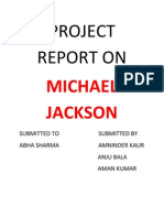 Michael Project Report On
