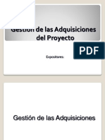 Gestion Adquisiciones PMO