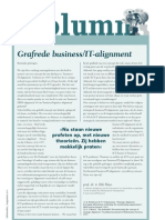 Grafrede business/IT-alignment