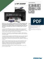 Epson WorkForce WF 2530WF Ficha de Produto