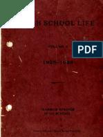 High School Life Vo. 4 1925-1926