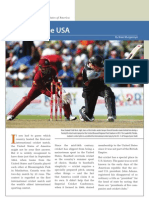 Cricket in the USA