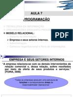 MODELO RELACIONAL - Empresa e Seus Setores Internos