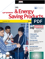 Solar & Energy Saving Products SEP12