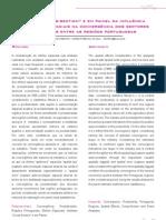Análise ``cross-section'' e em painel da influência dos efeitos espaciais na convergência dos sectores económicos entre as regiões portuguesas _-_ Martinho