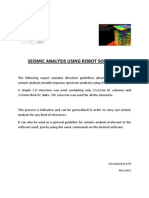 Seismic Analysis Using Robot Software