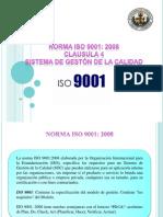 Expo Iso 9001 Clausula 4
