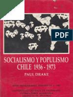 Paul Drake - Socialismo y Populismo