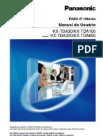KX-TDA_30_100_200_Manual_Usuário