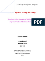 Analytical Study on Soap
