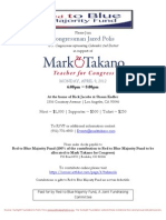 Reception for Mark Takano