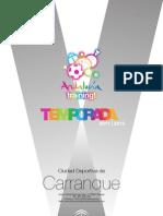 Folleto Deportivo de Carranque