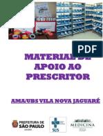 Material de Apoio Ao Prescritor e Dispensadores de Medicamentos