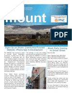 On the Mount Newsletter August/September 2013