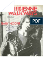 Parisienne Walkways Sheet Music 1978