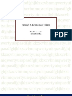 Finance & Economics Terms