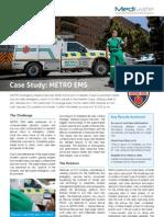 metro ems - medivate case study