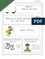 Theme 8 Mouses Birthday
