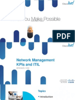 Network Management KPI's