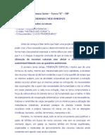 Tarefa Escolar - Etica, Meio Ambiente 2012 - Professora Paula Petracco - TSP - 1A
