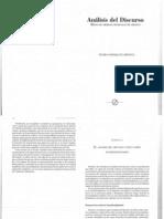 El análisis del discurso como campo interdisciplinario