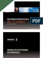 Clase 2 - Modelos de Sistemas Distribuidos