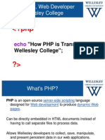 How PHP is Transforming Wellesley College (158523455)