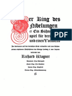 Sheet music and lyrics 'Das Rheingold' - Richard Wagner
