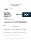 Justice Department's lawsuit against Bank of America