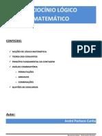 Curso Raciocnio Lgico Completo - Prof. Andr Pacheco