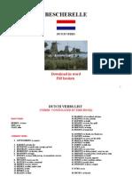 Bescherelle Des Verbes Hollandais (210 Pages)