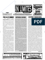 Sin Límites - Agosto 2013