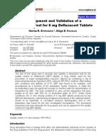 dissolution method development Scipharm.2009.77.679