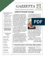 La Gazzetta.aprile 2009
