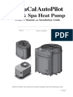 Aquacal Heat Pump Manual