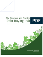 FTC Debt Buying Report 2013
