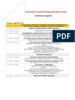 The Crowdfunding Professional Association's (CfPA) 2nd Annual Crowd Investing Innovation Forum