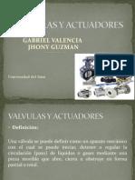 Valvulas y Actuadores Power Point