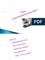 mantenimiento proactivo ISTPA