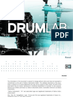 NI DRUMLAB Manual (English)